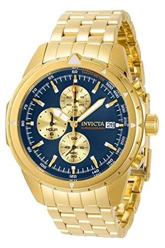 Invicta Aviator Chronograph Quartz Blue Dial Men's Watch 31496