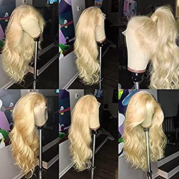 613 Blonde Lace Front Wigs Human Hair 13x4 Body Wave Lace Front Wigs Human Hair Pre Plucked with Baby Hair 150% Density Lace Front Wigs Human Hair 613 Color  20inch 613 lace front wigs
