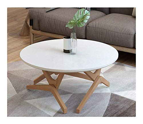 N/Z Equipo Diario Mesa de Centro Mesa de Comedor Uso Dual Mesa de té multifunción Madera Maciza Apartamento pequeño Mesa de té de elevación Creativa (Color: A)