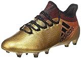 Adidas X 17.1 FG, Botas de fútbol para Hombre, Amarillo (Ormetr/Negbas/Rojsol 000), 42 EU