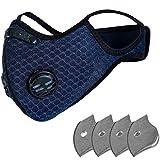 Auifor 3D Ropa Accesorios Casual para Mujer Antipolvo al Aire Libre Lavable y Reutilizable con Bandas Elasticas para Los Oídos Con filtro,enviar en españa