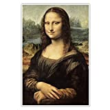 CanvasArts Leonardo da Vinci - Mona Lisa - Poster (60 x 40
