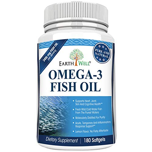 Earthwell Omega 3 Fish Oil Supplement