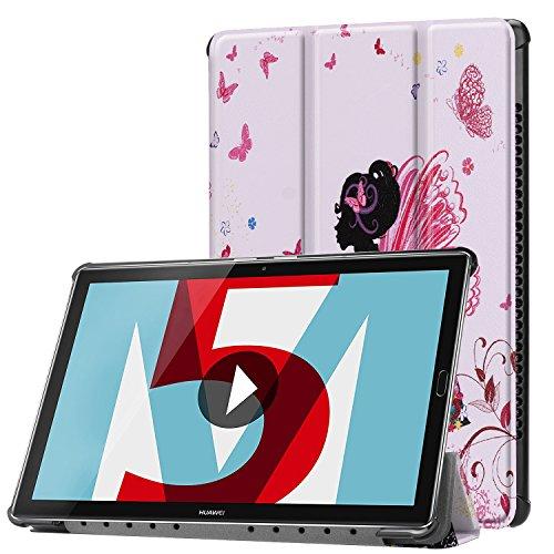 Lobwerk Funda para Huawei MediaPad M510.8Pulgadas Funda Tablet Smart Cover con Auto Sleep/Wake, función Atril y lápiz Capacitivo C7