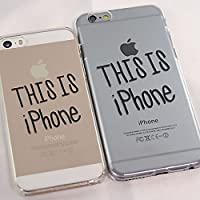 オリジナル iPhone SE/5s/5・6/6s・6 Plus/6s Plus クリアハードケース (iPhone SE/5s/5-THIS IS iPhone)