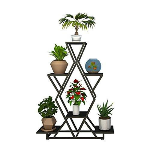 YFF- Multi-couche Pot De Fleur Racks Style Européen D'intérieur Support De Pied Moderne Jardin Minimaliste Cultiver Plante Pot Stand 4 Tiers Fer Artisanat Fleur Stand Chambre Balcon Salon