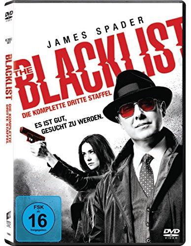 The Blacklist - Staffel 3 (6 Discs) [DVD] [Alemania]