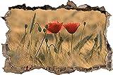 Pegatinas pared - Murales Flor Extraíble Agujero rasgado Decoración Papel tapiz Arte de Pvc Arte de la escuela infantil Decoración de la pared del cuarto de niños - 50x70cm
