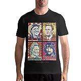 Camisetas Kris Kristofferson Camiseta clásica de algodón con Cuello Redondo y Manga Corta a la Moda para Hombre S-6XL