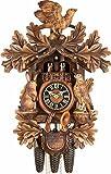 Kuckucksuhr 8-Tages-Uhrwerk geschnitzt 52cm von Hönes