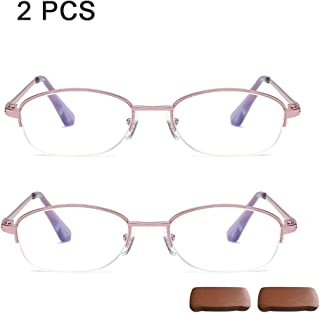 e012425ce8 Admier Gafas de Lectura para computadora Gafas de presbicia 1.00D a 3.00D  Azul Medio