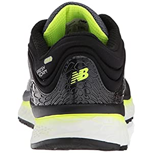 New Balance Men's Fresh Foam 1080 V8 Running Shoe, Grey/Yellow, 8 B US