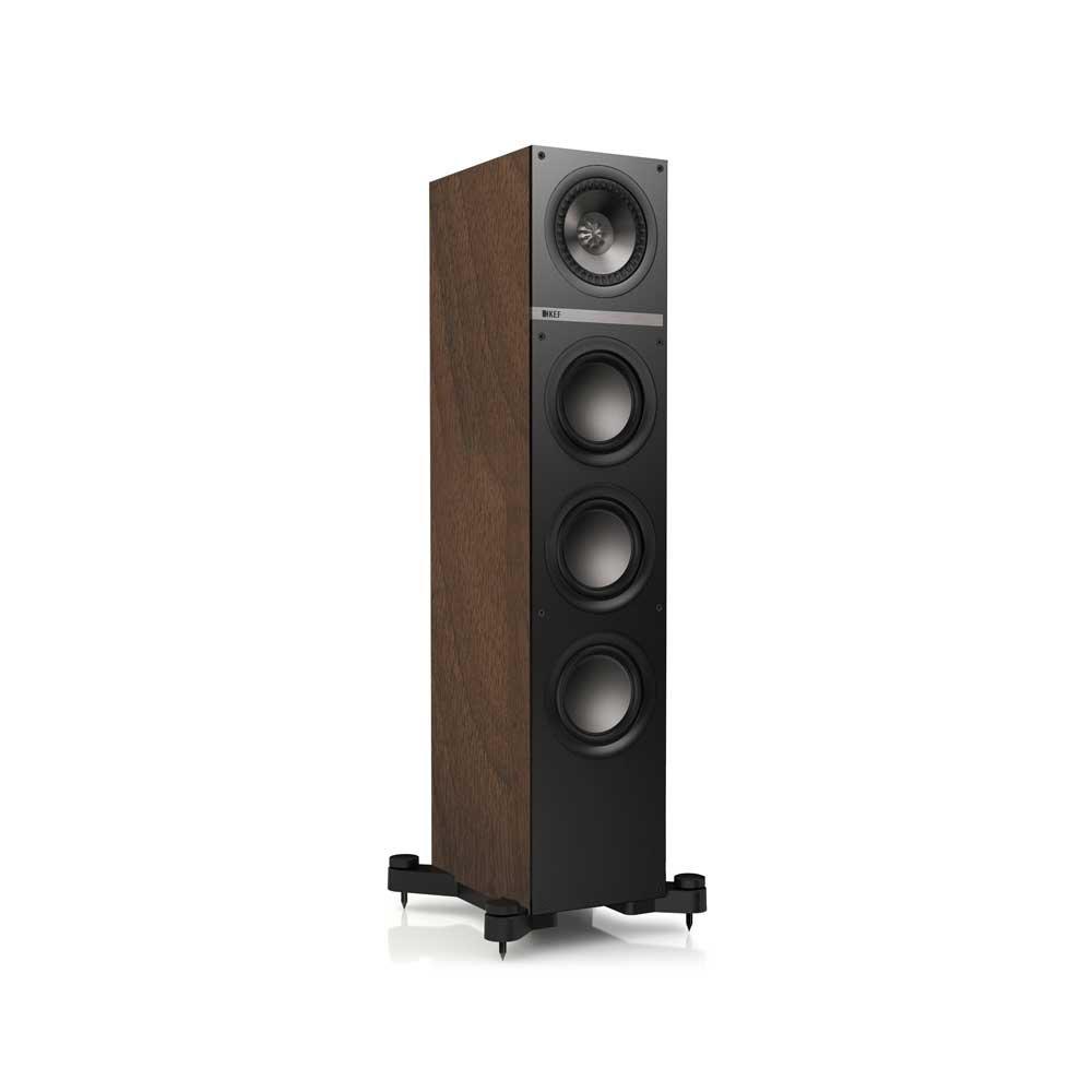 KEF Q500 Floorstanding Loudspeaker - American Walnut (Single)