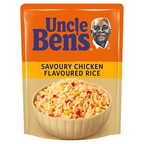 Uncle Bens Microwave Rice Savoury Chicken 250g