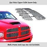 Compatible with 2002-2005 Dodge Ram Main Upper Billet Grille Insert D85374A