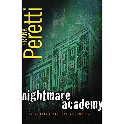 Nightmare Academy audiobook cover art