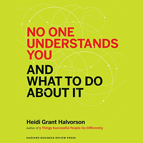 No One Understands You and What to Do About It audiobook cover art