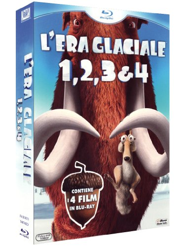 L\'era Glaciale (Box 4 Blu-ray)