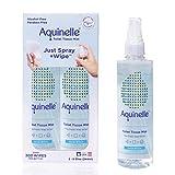 Aquinelle Toilet Tissue Mist, Eco-Friendly & Non-Clogging Alternative to Flushable Wipes S...