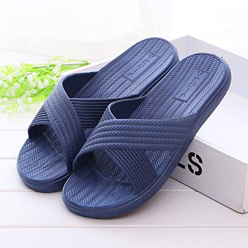CWJDTXD Zapatillas de verano Steamer par sandalias y zapatillas baño zapatillas antideslizantes...