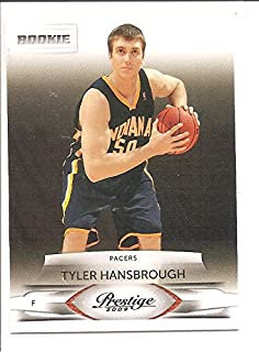 716240dc2c0 Tyler Hansbrough Indiana Pacers / North Carolina Tar Heels 2009-10 Panini  Prestige Rookie Basketball