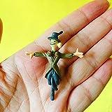 LHOUSSAINE Figurines & Miniatures - 1pcs Watchman/Monster/Miniatures/Animals/Fairy Garden GNOME/Terrarium Decoration/Crafts/Bonsai/Doll House Figurine/DIY Supplies/ - by 1 PCs