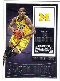 2015-16 Panini Contenders Draft Picks Season Ticket #90 Tim Hardaway Jr. Michigan Wolverines
