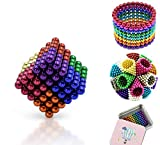 Noxus Juguetes de Colores mágicos de construcción de Bolas de Inteligencia, y el estrés de Socorro Escultura Edificio Magia Juguetes 5mm 216Pcs