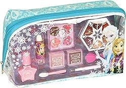 Ofertas Tienda de maquillaje: Completa tu look Frozen con los accesorios y maquillaje que encontrarás en este precioso neceser. Ideal por su segundo uso Contenido: 1 neceser, 1 esmalte de uñas, 1 barra de labios, 1 compacto con 4 tonos de lip gloss También contiene sombras de ojo...