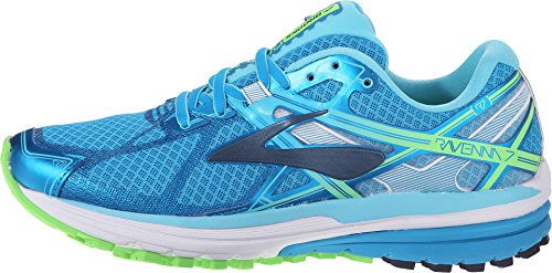 Brooks Ravenna 7, Zapatillas de Running para Mujer, Azul (Hawaiian Ocean/Peacoat/Green Gecko), EU 37.5 (US 6.5)