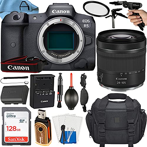 Canon EOS R5 Mirrorless Digital Camera...