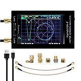 Analizador de red vectorial NanoVNA-F 4.3INCH, pantalla digital LCD, pantalla táctil, analizador de antena UHF VHF MF de onda corta MF, onda estacionaria 50 kHz-900 MHz,vna-f coque métallique