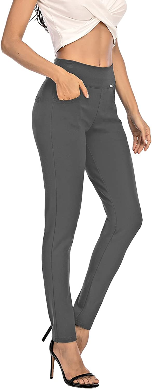 neezeelee Dress Pants for Women Max 74% OFF Comfort Shipping included Leg Stretch Fit Slim Ski