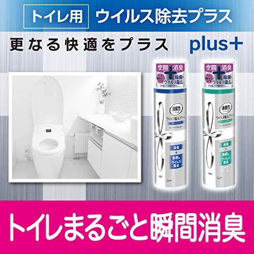 エステー『消臭力トイレ用スプレーウイルス除去プラス』