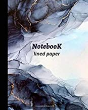 """Notebook """"Abstraction"""": College Ruled Line Paper 8 х10,100 sheets,high quality white paper"""