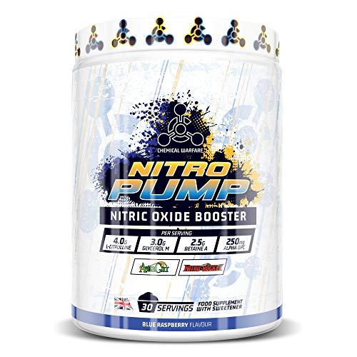 Non Stim Nitric Oxide Pre Workout Supplement Energy Drink Powder - NitroRocket, L Citrulline & Nootropics Supplements Alpha Gpc & Astragin-Nitro Pump