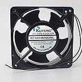 for KUFENG KF12038HA2BL 0.14A 21W 220V-240V 12012038mm Double Ball axial Fan
