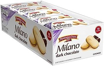 Pack of 10 Pepperidge Farm Milano Cookies, Dark Chocolate