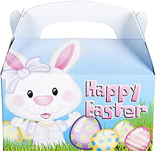 Neliblu Easter Treat Boxes by 1 Dozen Fill with Easter Eggs and Easter Treats