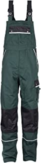 TMG® Work Bib and Brace Overall for Men, Work Dungarees with Knee Pad Pockets