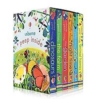 hobbyant 6冊/セット英語の絵本教育3Dフラップ絵本赤ちゃんの子供のための読書ギフト