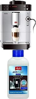 Lot avec Melitta Caffeo Passione, Machine à Café et Boissons Chaudes Automatique, Auto-Cappuccinatore, Argent, F53/0-101 e...