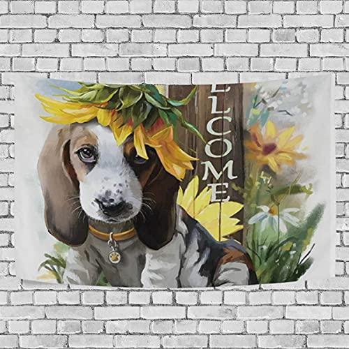 Tapices Tapices de Pared Amantes de los Perros Beagle Alfombra Grande Manta Decoración del hogar para el Dormitorio Cubiertas de la Cama del Dormitorio
