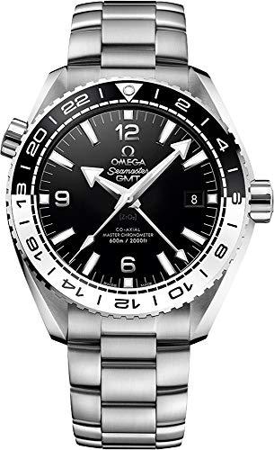 Omega Seamaster Planet Ocean Reloj para hombre, bisel blanco y negro, 43,5 mm, 215.30.44.22.01.001