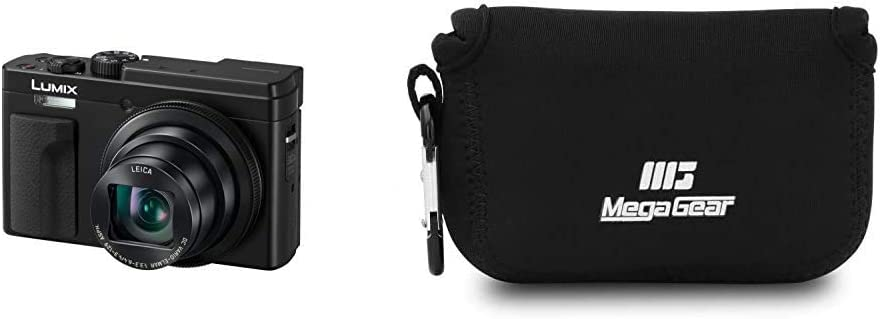 Panasonic LUMIX DC-TZ95EB-K High-end Compact Travel Camera Black /& SanDisk Extreme PRO 64GB SDXC Memory Card up to 170MB//s U3 Class 10 V30