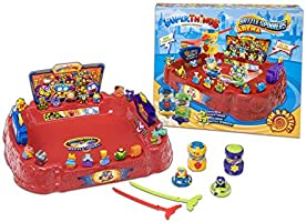 SuperThings - Playset Battle Arena, Contiene 1 Arena, 2 Battle Spinners Exclusivos y 2 SuperThings Exclusivos (PSTSP112IN70)