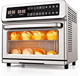 11-in-1 Air Fryer Toaster Oven, 22 Quart Convection Toaster Oven Air Fryer Combo, 1700W Countertop...
