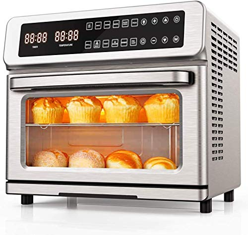 11-in-1 Air Fryer Toaster Oven, 22 Quart Convection Toaster Oven Air...