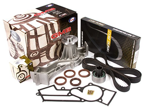 Evergreen TBK249MWP3 Fits 96-04 Nissan Infiniti SOHC Supercharged VG33E Timing Belt Kit GMB Water Pump