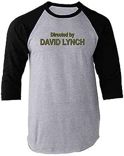 Directed by David Lynch Raglan Baseball Tee Shirt